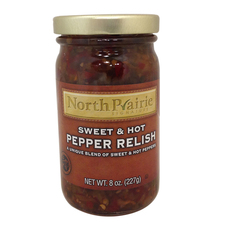 Sweet & Hot Pepper Relish 8 oz (buy 5 get 1 free)